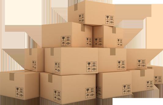 csomagolás dobozok